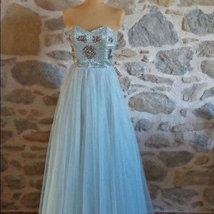1950s Glamorous Gown-Great Condition - JAWDROPPER